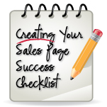 Creating Sales Page Success Checklist